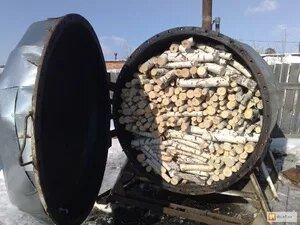 Как в домашних условиях произвести древесный уголь