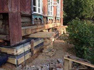 Какие сооружения можно поднимать домкратом