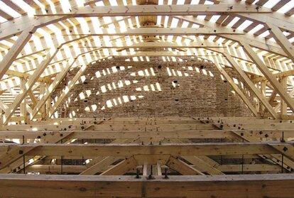 мансардная крыша с дополнительным скатом