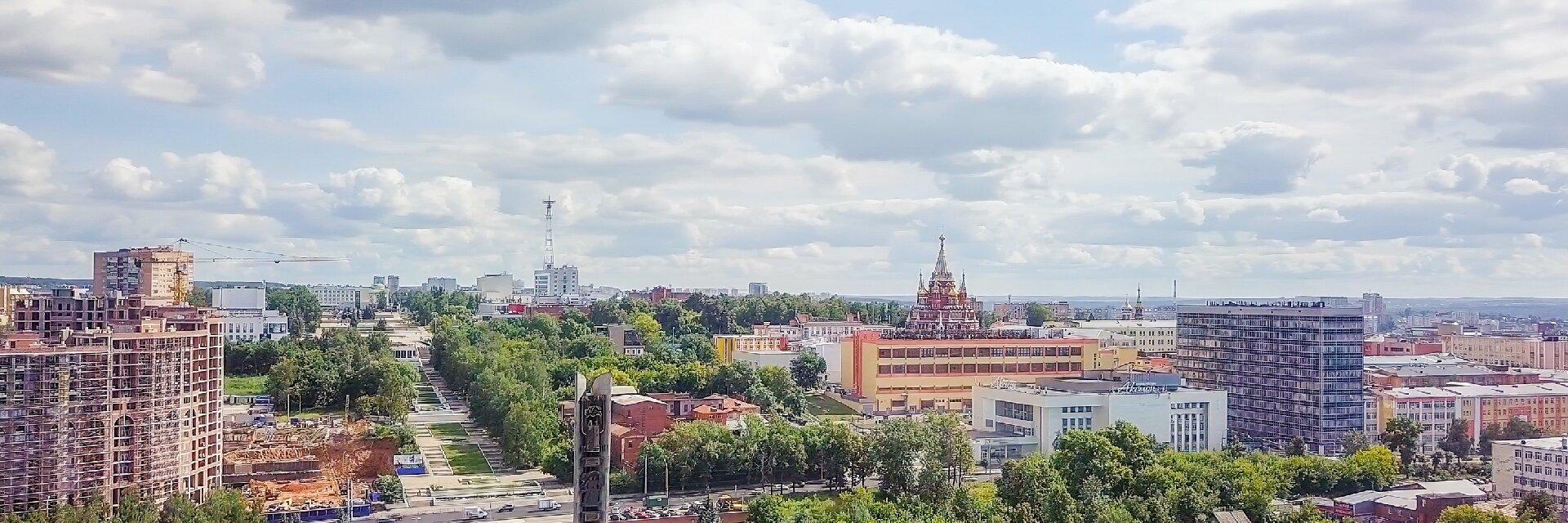 Поиск отелей в Ижевске