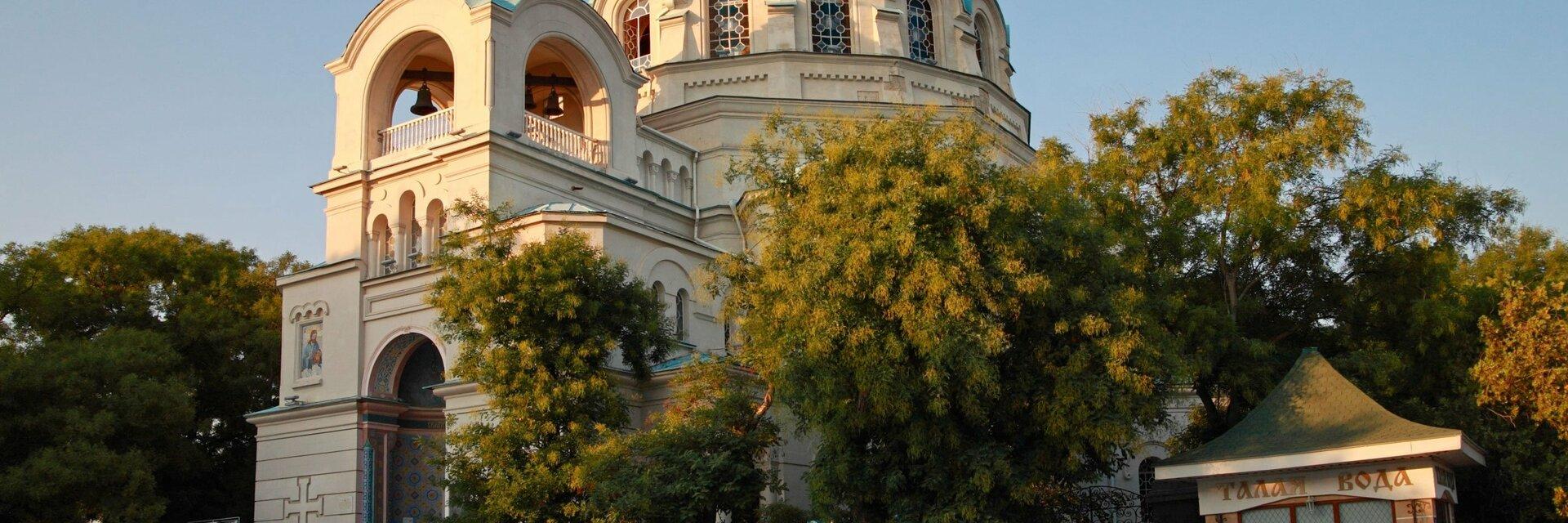 Поиск отелей в Евпатории