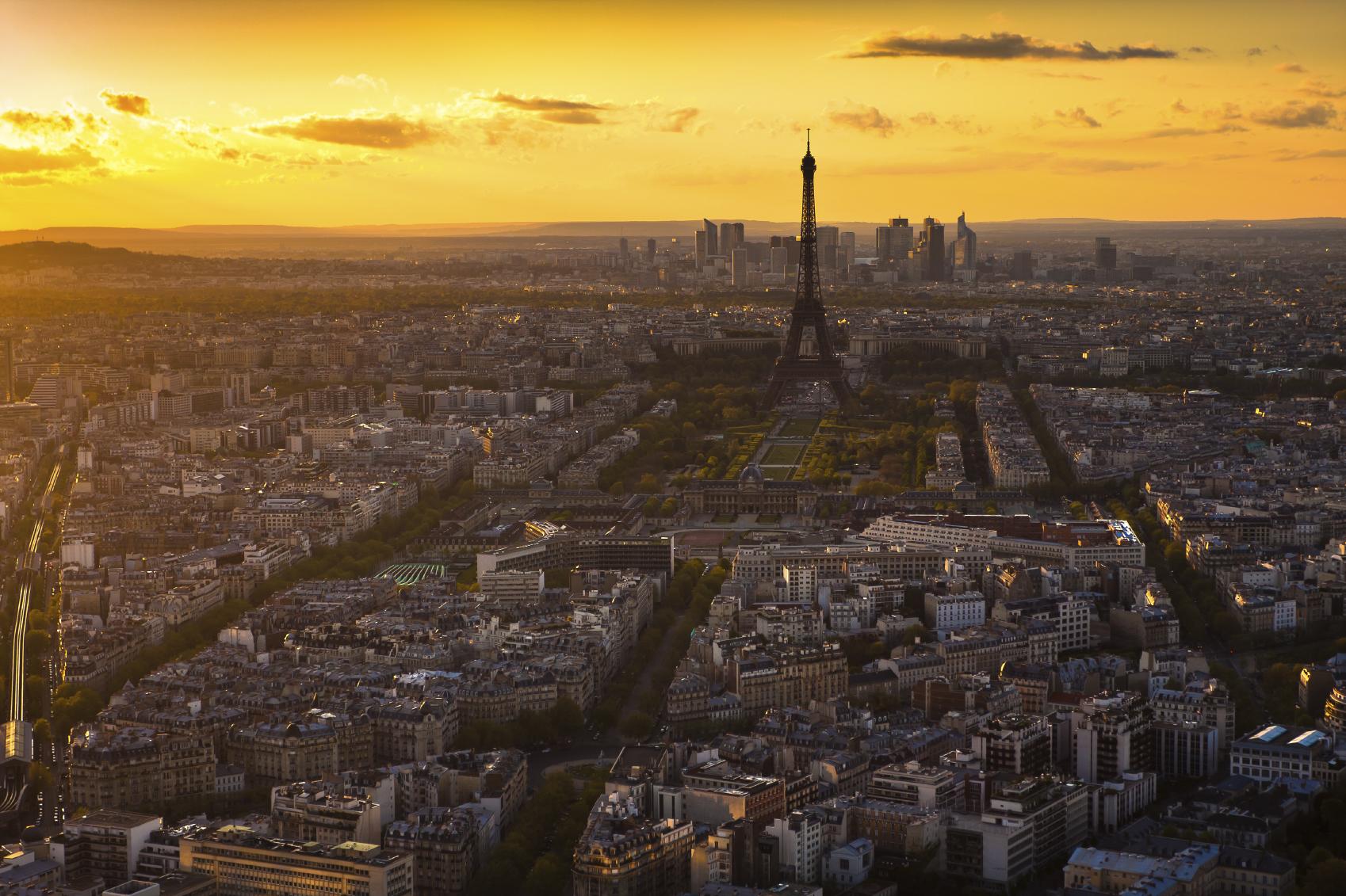Поиск отелей в Париже