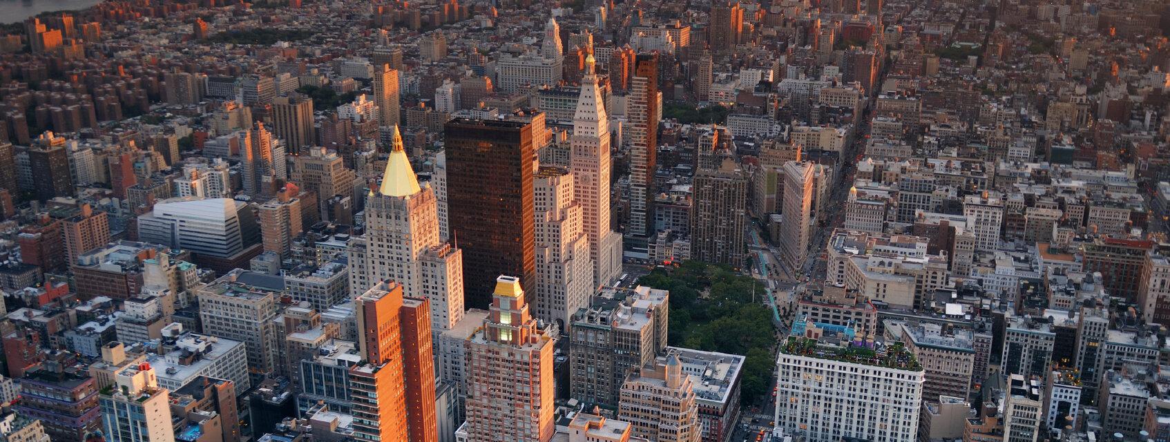 Поиск отелей в Нью-Йорке