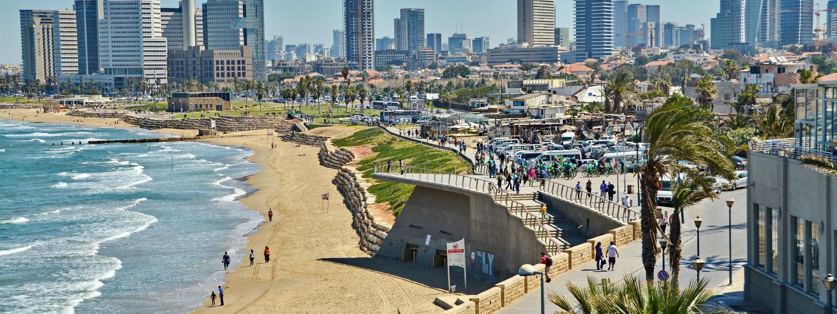 Поиск отелей в Тель-Авиве