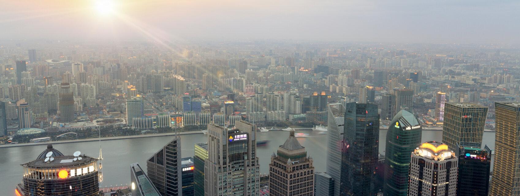 Поиск отелей в Шанхае