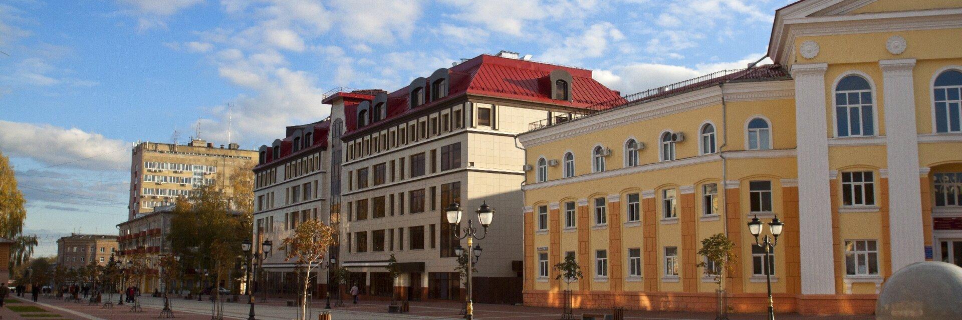 Поиск отелей в Брянске