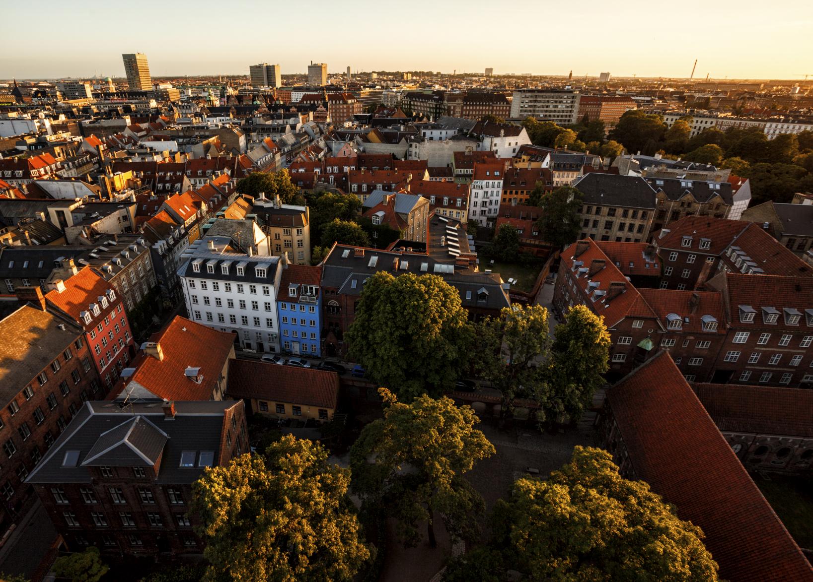 Поиск отелей в Копенгагене