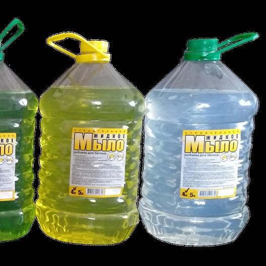 Жидкое строительное мыло 4 л