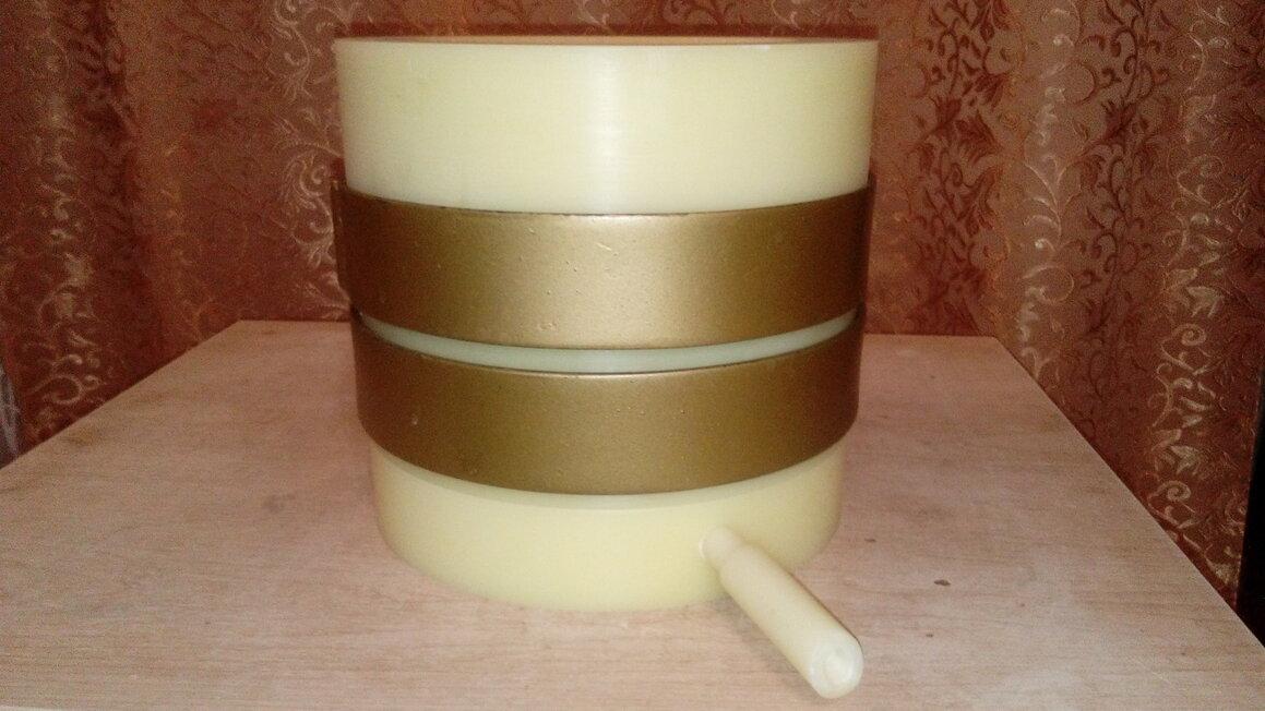 Маслопресс из капролона на 3 литра