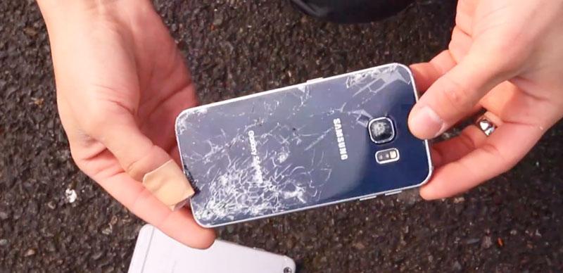 Замена стекла на телефоне Samsung