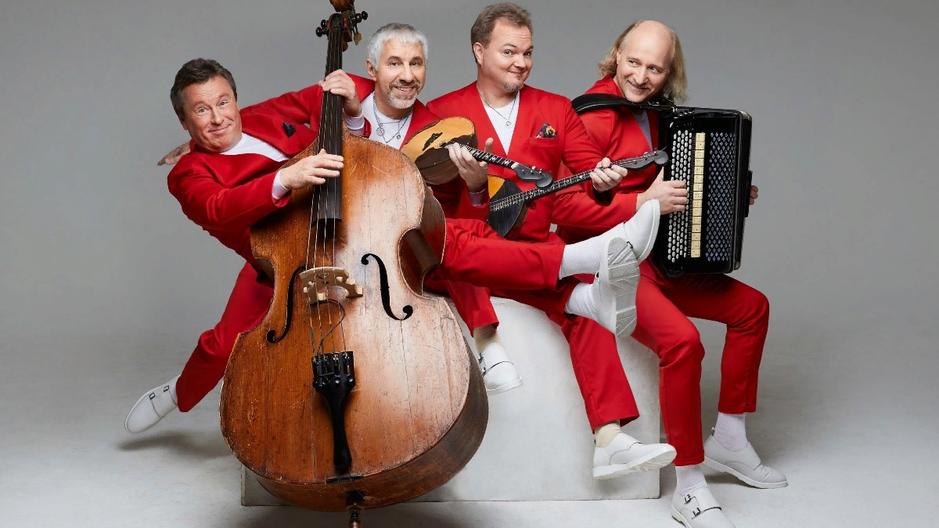 Вас ждет встреча с петербургской музыкальной легендой «Терем Квартетом». Эти виртуозы недавно начали включать в свой репертуар музыку танго.