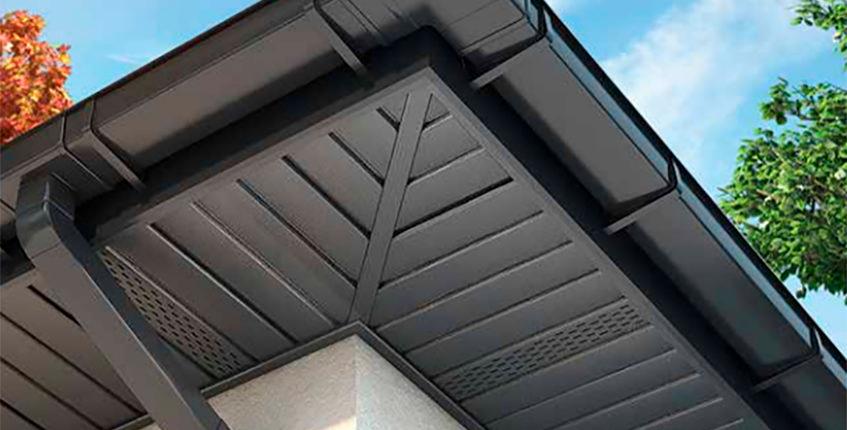 софиты серого цвета для крыши