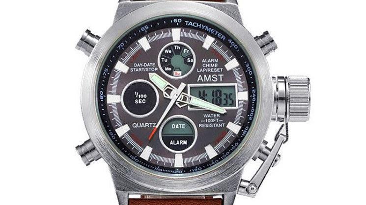 Мы работаем на прямую от завода изготовителя часов AMST по этому мы предлагаем только оригинальную продукцию часов. Остерегайтесь подделок