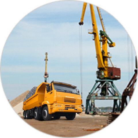 Доставка песка щебня  в Рыбинске