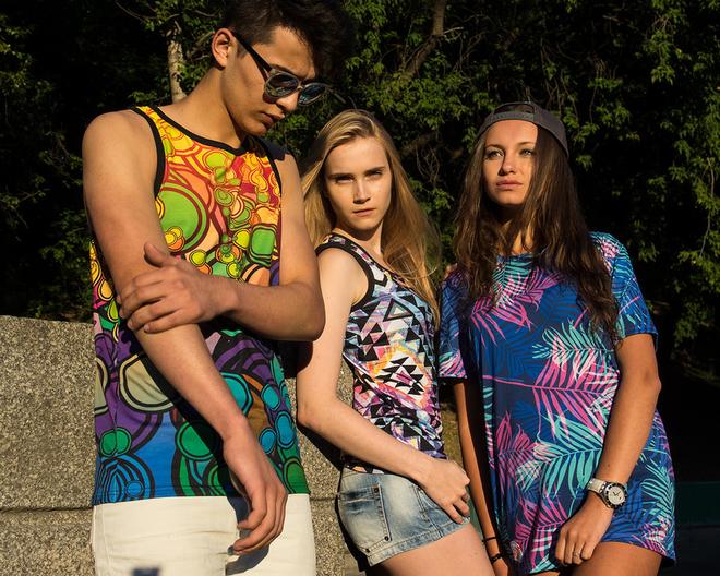 Магазин тысяч модных принтов одежды