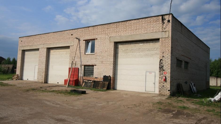 Здание грузового сервиса 450 м2