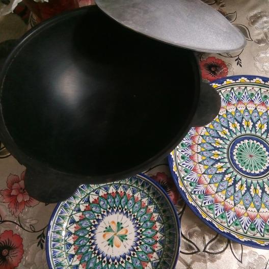 Настоящие узбекские казаны из чугуна