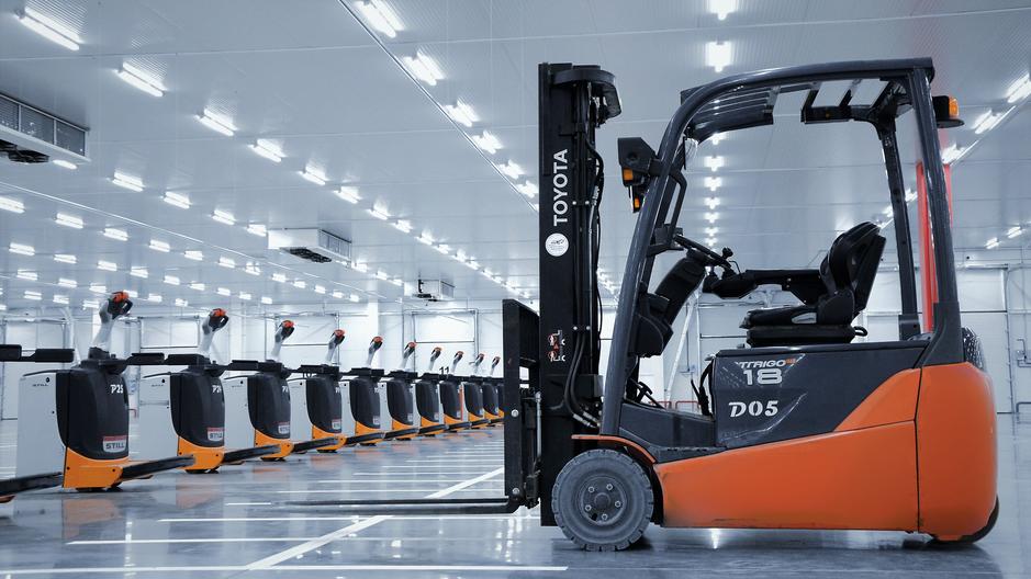 Технология кросс-докинга позволяет обрабатывать большое количество разнообразных грузов за короткий срок в различных температурных режимах.