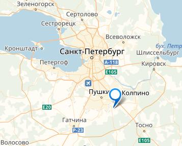 Оптимальная геолокация - складской комплекс УК Грандо расположен в 15 минутах от КАД и в 5 км от федеральной трассы М-10 Москва-Санкт-Петербург.