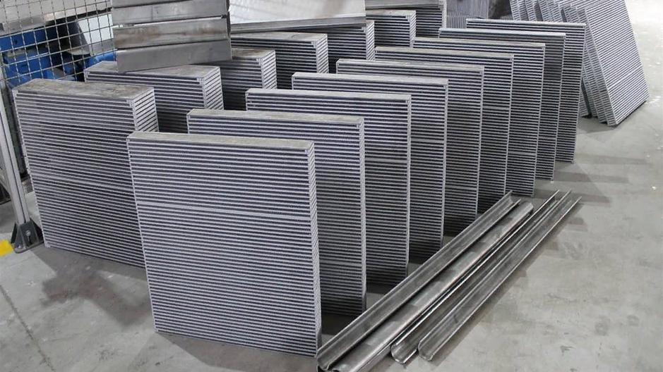 Аллюминевые радиаторы изготовлены по технологии NOCOLOK