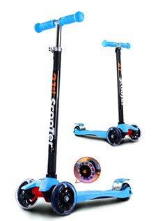 Самокат Scooter Maxi со светящимися колесами