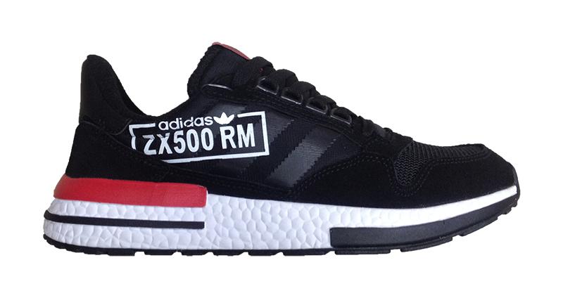 Кроссовки Adidas ZX 500 RM  Black