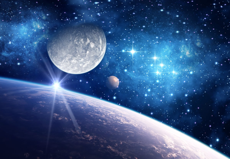 Картинки на тему вселенная, днем рождения