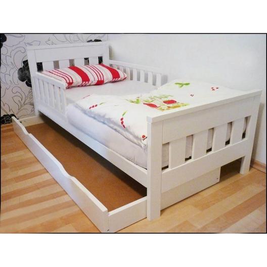 Детская кровать ЛИРИКА из массива сосны