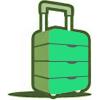 Купить чемодан недорого – чехол в подарок!