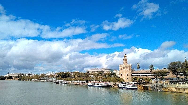 Экскурсии в Севилье на русском языке. Золотая башня, Хиральда, Алькасар, Кафедральный собор