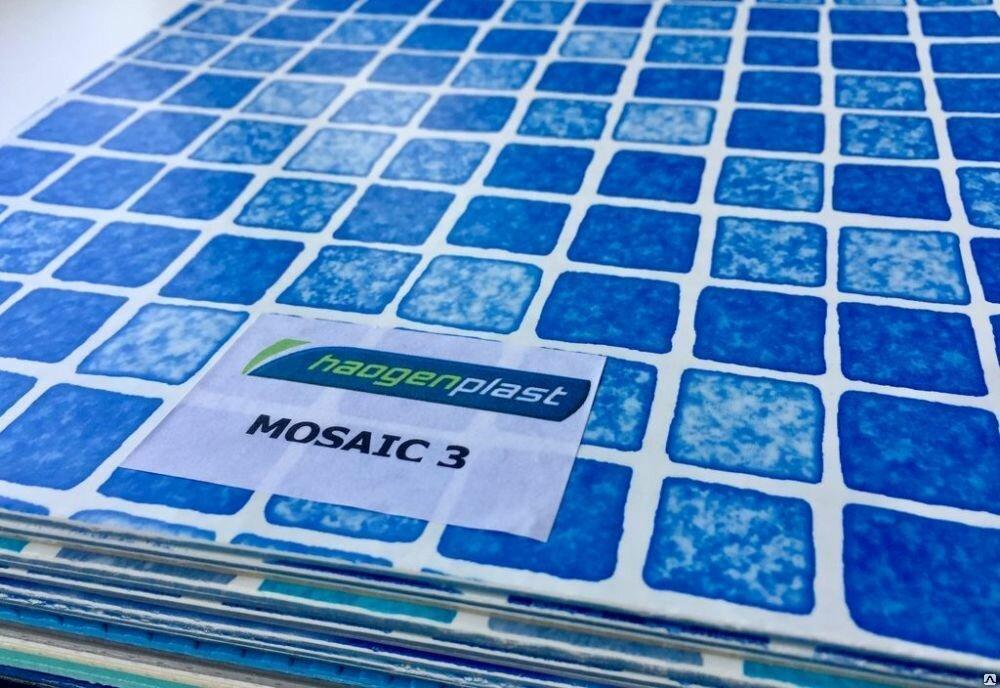 ПЛЁНКА ПВХ ДЛЯ БАССЕЙНОВ MOSAIC 3  Haogenplast Ltd, Израиль.