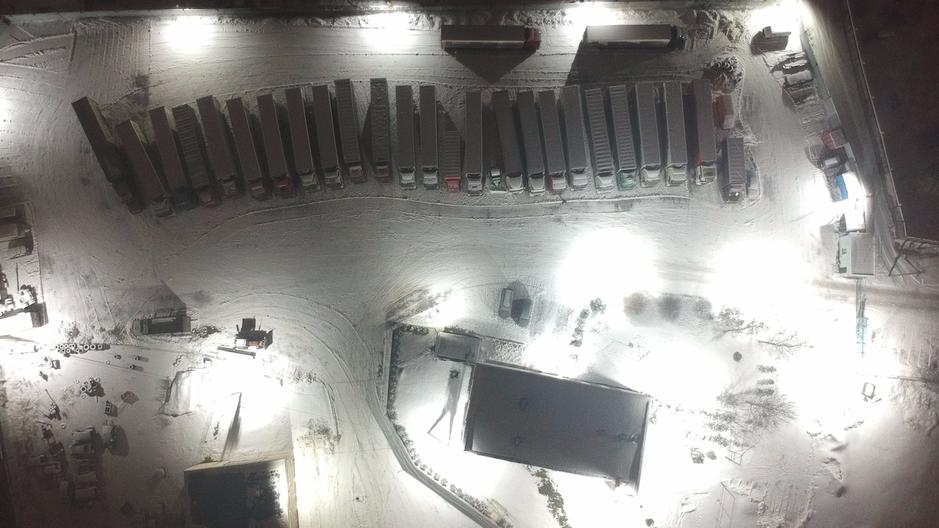Светодиодное освещение всей базы