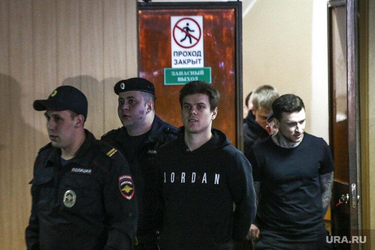 Суд продлил срок задержания под стражей Кокорину и Мамаеву Фото: Владимир Андреев © URA.RU