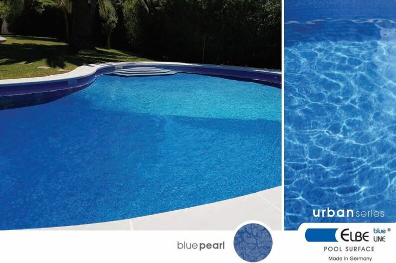 ПЛЕНКА МОЗАИКА ДЛЯ БАССЕЙНА MOSAIC BLUE SGBD 160 ELBTAL-PLASTICS