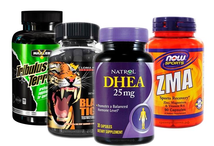естостероновые бустеры (тестобустеры) — препараты, использующиеся для набора массы, увеличения выносливости, силы и либидо, а также для коррекции гормонального фона.