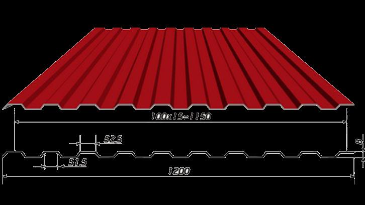 Профнастил С8 (стеновой)
