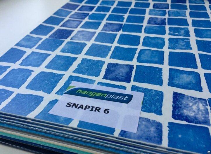 ПЛЁНКА ПВХ ДЛЯ БАССЕЙНОВ SNAPIR 6  Haogenplast Ltd, Израиль.