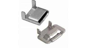 Скрепа NC20 и бугель NB20 предназначены для фиксации монтажной ленты. Изготавливаются из нержавеющей стали.