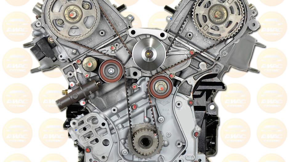 Контрактный двигатель 3.5л бензин J35Z