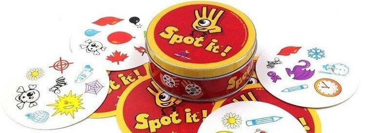 Успей купить настольную игру Доббль Spot It За 500 рублей