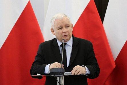 Председатель правящей консервативной партии Польши «Право и справедливость» Ярослав Качиньский (сс) Rafał Zambrzycki