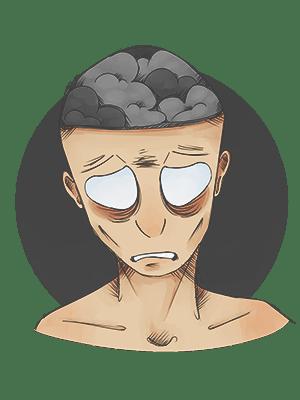 Картинка фатальной инсомнии - болезнь от которой умирают