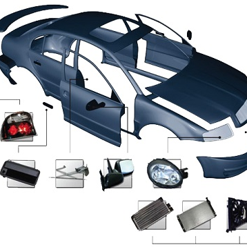 Кузовные детали автомобилей CHRYSLER