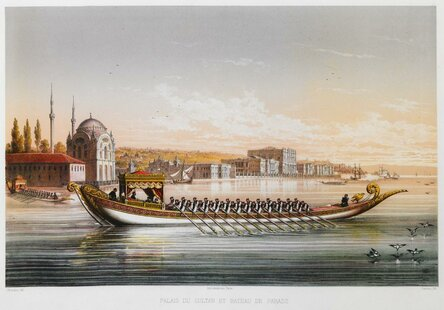 Masjid Dolmabahce Palace di Istanbul