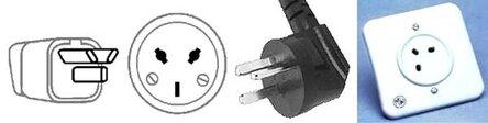 Виды розеток электрических в мире и напряжение в них 9