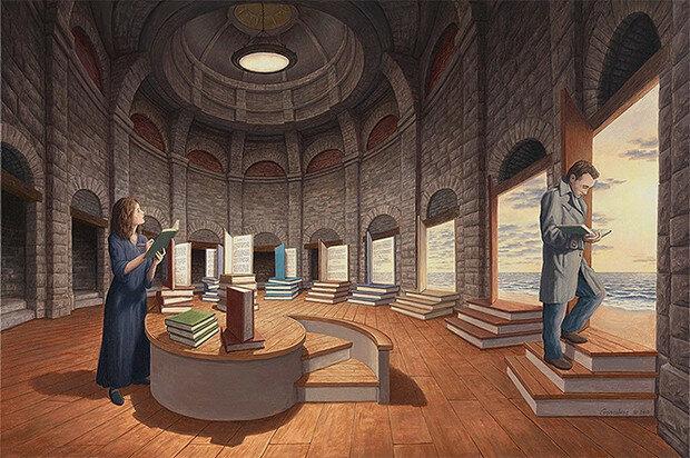 Фото №3 - 13 картин Роба Гонсалвеса, которые запутают твой мозг