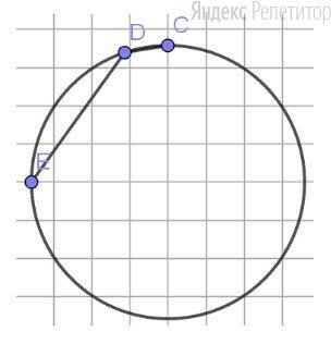 Чему равен угол, изображённый на рисунке?