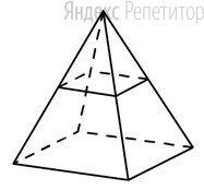 В правильной четырёхугольной пирамиде все рёбра равны ....