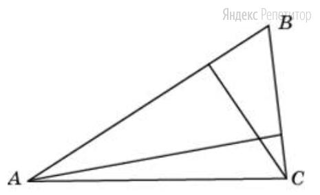 В треугольнике со сторонами 9 и 6 проведены высоты к этим сторонам. Высота, проведённая к первой из этих сторон, равна 4.