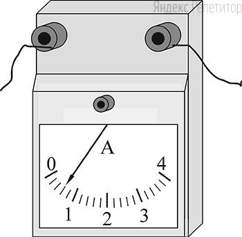 Последовательно с резистором, сопротивление которого равно ... Ом и известно с высокой точностью, включён амперметр (см. рисунок).